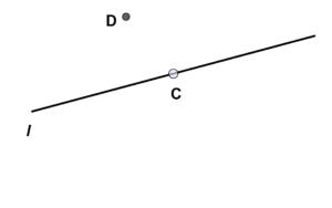 kedudukan titik terhadap garis